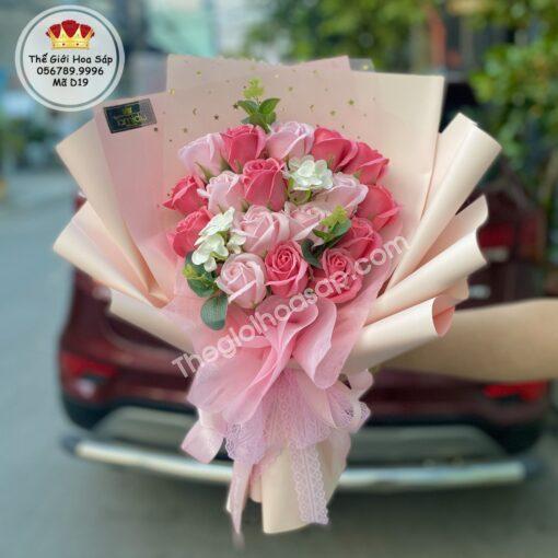 Hoa sáp 18 bông