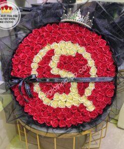 hoa sáp 200 bông ghi chữ