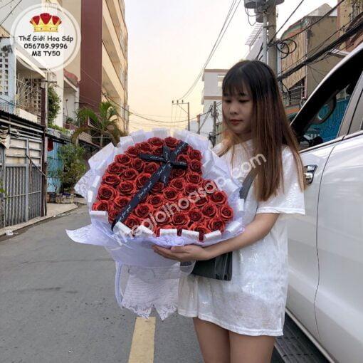 hoa kim tuyến đỏ
