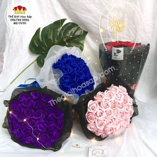Hoa sáp 30 bông