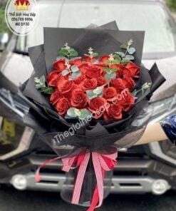 bó hoa kim tuyến 30 bông