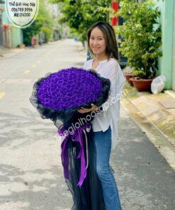 hoa sáp 200 bông cap cấp