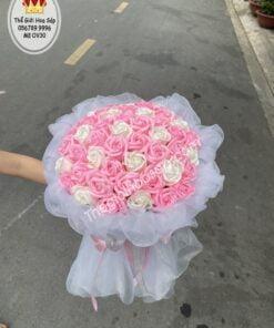 Hoa sáp thơm 30 bông