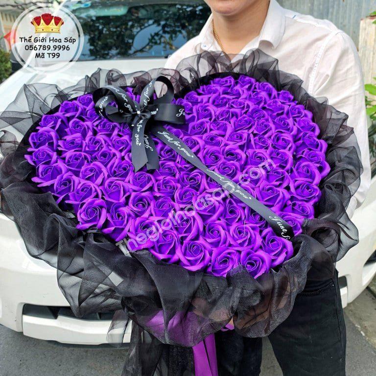tặng hoa sáp ngày lễ