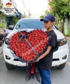 hoa hồng sáp kim tuyến