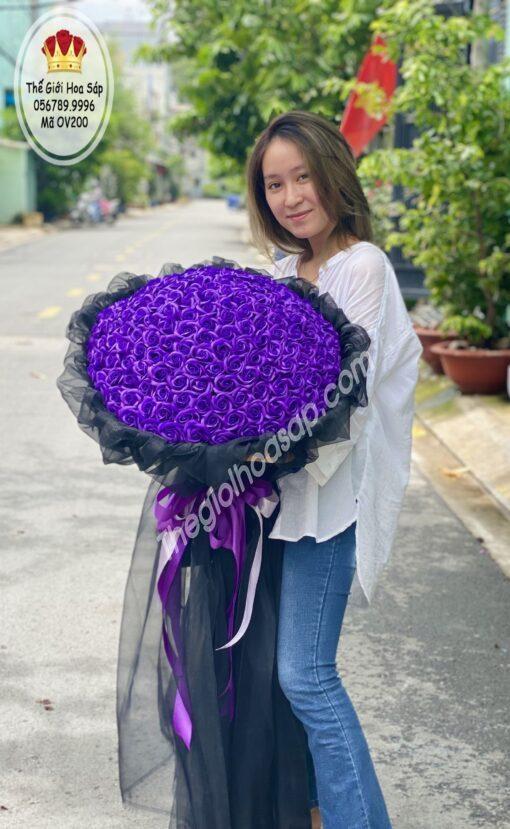 hoa sáp 200 bông