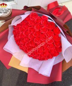 bó hoa sáp thơm 50 bông