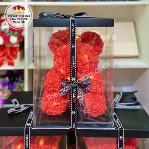 gấu hoa 45 cm