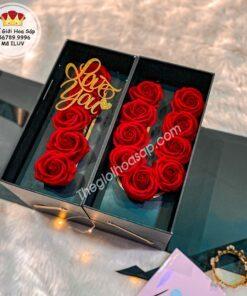 hoa sáp bỏ hộp