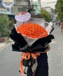 bo hoa sap mau cam