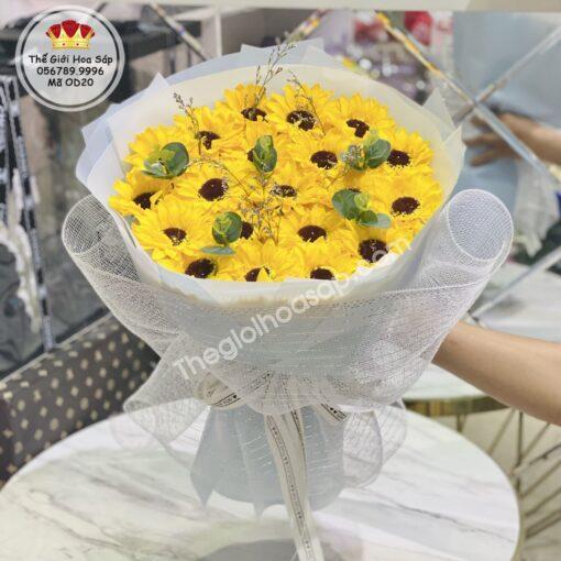 bó hoa huong duong dep