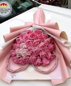 bó hoa sáp đẹp