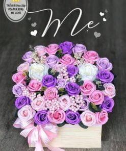 chậu hoa tặng mẹ
