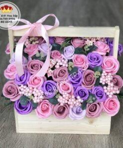 những giỏ hoa đẹp