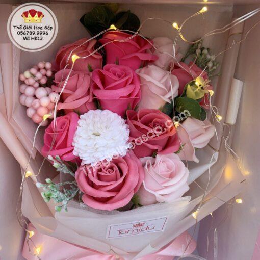 hoa sáp tinh tế