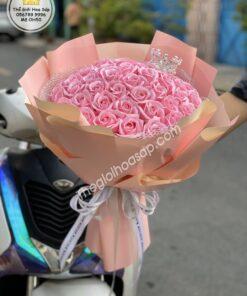 hoa sáp 50 bông