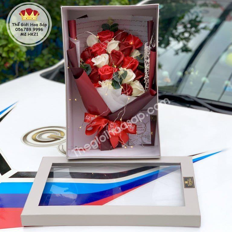 quà tặng hoa sáp đẹp
