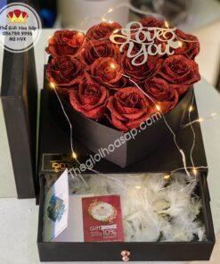 hộp hoa sáp đẹp