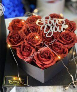 hộp quà hoa sáp đẹp