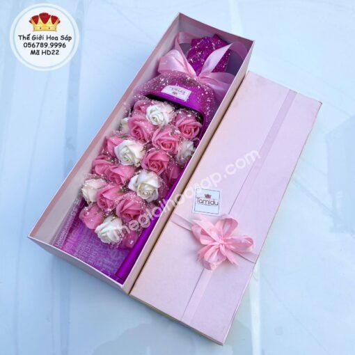hộp hoa sáp giá rẻ