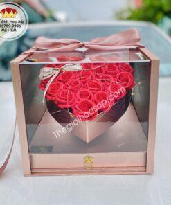 hộp hoa sáp