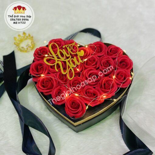 hộp trái tim