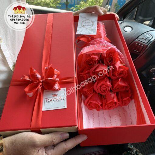 hộp hoa giá rẻ