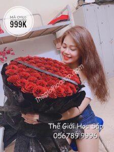 Bó Hoa Nhũ Kim Tuyến 50 Bông